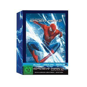 The Amazing Spider Man 2: Rise of Electro Blu ray (Lightbox) für 19€ (statt 37€)