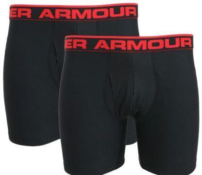 UNDER ARMOUR Boxerjock Herren Boxershorts im Doppelpack für nur 9,99€ (statt 18€)