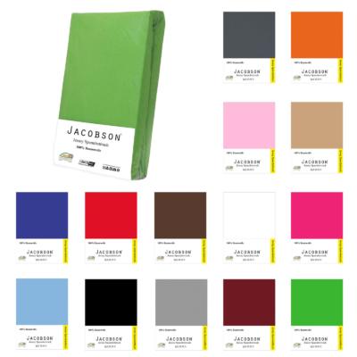 Jersey Spannbettlaken   verschiedene Farben und Größen ab 6,99€