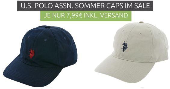 U.S. POLO ASSN. Caps in 4 Farben statt 23€ für je nur 7,99€