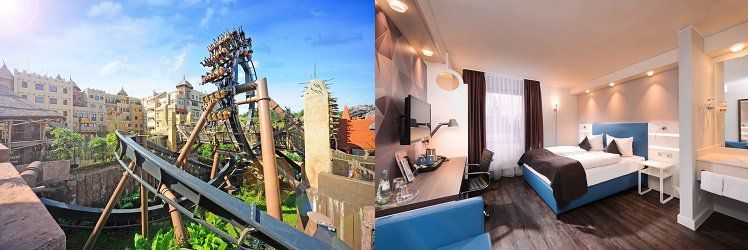 Phantasialand + 1 Nacht im 4* Hotel inkl. Frühstück ab 75€ p.P.