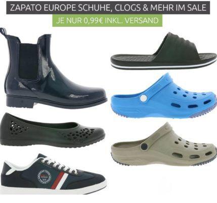 ZAPATO EUROPE Ausverkauf   Clogs, Stiefel, Taschen schon ab 0,99€