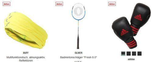 Galeria Kaufhof Dienstag Angebote: heute 20% Rabatt auf Sportausrüstung und Zubehör