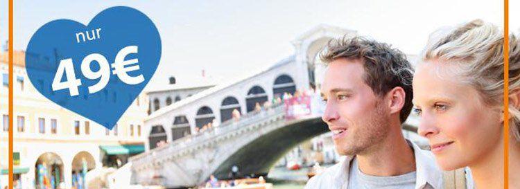 Reisegutschein: A&O Venedig für 2 ÜN zu Zweit für 49€ – 3 Jahre gültig