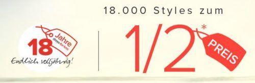 Dress for less mit 50% Rabatt auf 18.000 Artikel + 10% Gutschein bis Mitternacht