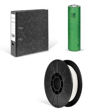 Druckerzubehör Räumungsverkauf mit bis zu 95% auf die UVP   z.B. PLA Filament 1 kg ab 14,97€