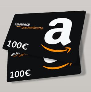 Die besten Deals Gratis per WhatsApp! 2x 100€ Amazon.de Gutschein gewinnen