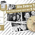 Klarmobil Zebra Allnet Flat 5GB mit THW-Trikot für 15,68€ mtl.