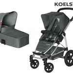 Koelstra Binque Daily Kinderwagen + Banana Korbwagen für 257,95€ (statt 394€)