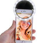 Dimmbarer Selfie-Ringblitz mit 36 LED für 2,71€