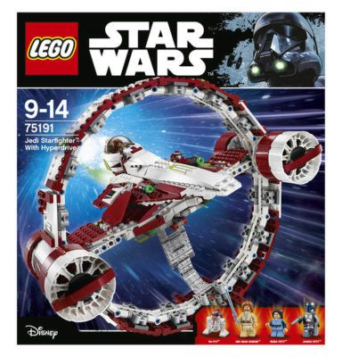 LEGO Star Wars 75191   Jedi Star Fighter ab 89,99€ (statt 118€)