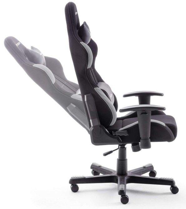 DXRacer 5 Gaming Stuhl in schwarz/grau für 259,99€ (statt 293€)