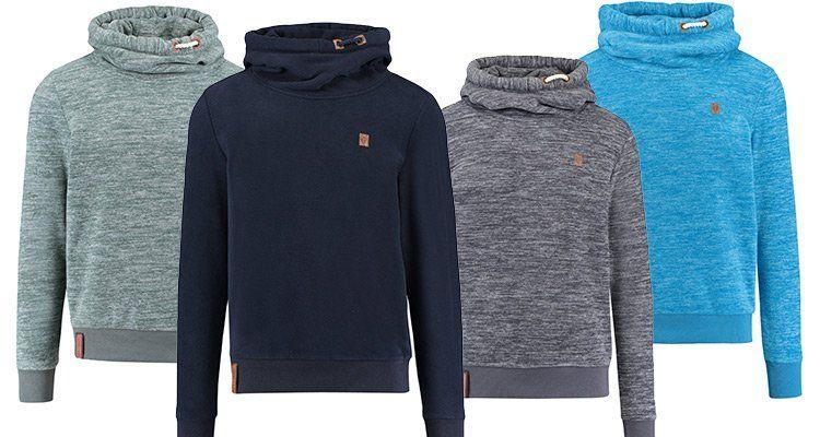 Naketano Herren Sweatshirt mit Schalkragen in 4 Farben für je 35,87€ (statt 50€)