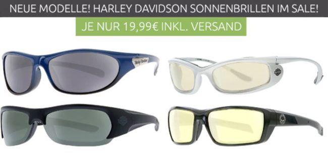 Neue Modelle: Harley Davidson Sonnenbrillen für nur je 19,99€ (statt 49€)