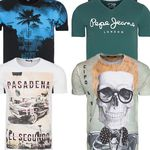 Neuer Herren T-Shirt Sale mit Adidas, Jack & Jones, Levis & Co. ab 1,99€