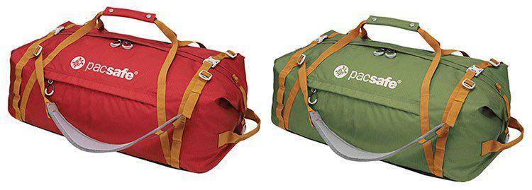 PacSafe AT80   Duffelsafe Tasche (80L) mit Sicherheitsreißverschlüssen & eXomesh Schlitzschutz für 59,82€ (statt 111€)