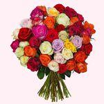 """Blumenstrauß """"CrazyLOVE"""" mit 41 Rosen für 23,94€"""