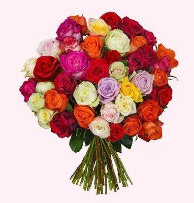 Blumenstrauß CrazyLOVE mit 41 Rosen für 23,94€