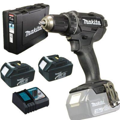 Makita Akkuschrauber DDF482RFEB + 2 Akkus (3,0 Ah) + Ladegerät für 148,74€ (statt 167€)