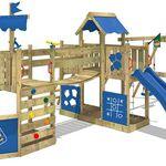 WICKEY ArticFlyer – Spielhaus mit Kletterturm, Schaukel und Rutsche für 599,95€ (statt 720€)