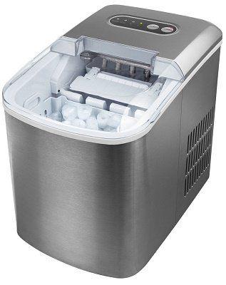 Medion MD 17739 Eiswürfelzubereiter aus Edelstahl für 102,94€ (statt 130€)