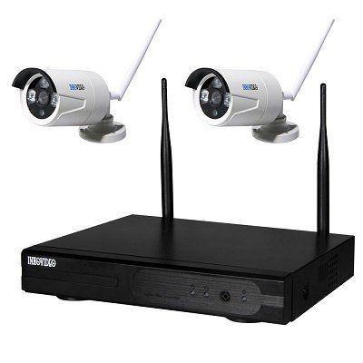 Inkovideo Netzwerkkamera mit 4 Kanal Rekorder für 99,90€