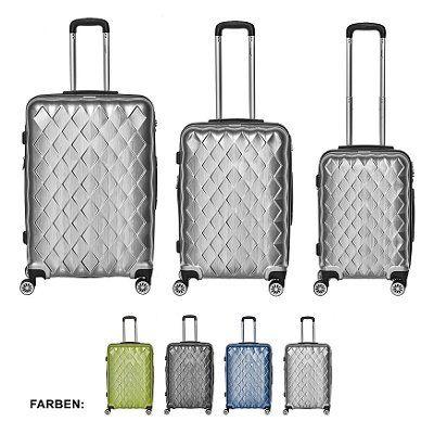 Packenger Hartschalen Kofferset Atlantic für 149€ (statt 249€)