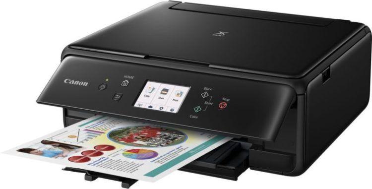 Canon PIXMA TS6050 Tintenstrahl Multifunktionsdrucker für 77€ (statt 94€)