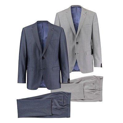 Bugatti Herren Anzüge in Smart Fit und 2 Farben viele
