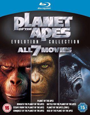 Planet der Affen: Evolution Collection für ~15,40€ (statt 49€)