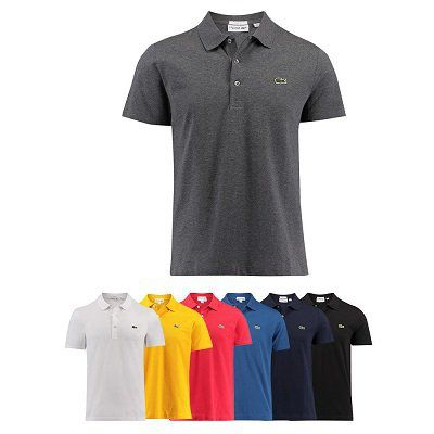 Lacoste Poloshirts für Herren (Slim Fit) für 39,90€ (statt 63€)