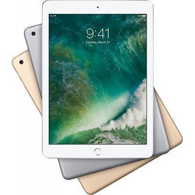 Apple iPad (2017)   9,7 Zoll mit 128GB + WiFi für 377€   Gebrauchtware!