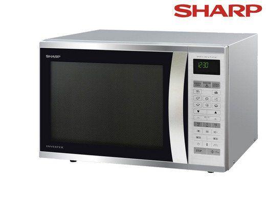Sharp Kombi Mikrowelle (R971STW) mit Grillfunktion für 308,90€ (statt 391€)