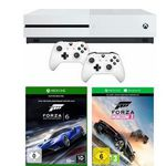 Xbox One S 500 GB + Forza Horizon 3 (DLC) + Forza Motorsport 6 + 2. Controller für 265,94€