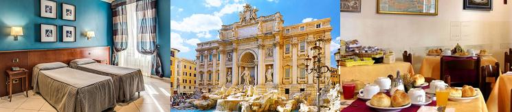 2   4 ÜN im 3* Hotel in Rom inkl. Flüge und Frühstück ab 139€ p. P.