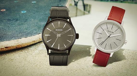 OneDay Nixon Sale bei Vente Privee   günstige Uhren für Sie & Ihn   z.B. Kensington Leather für 54€ (statt 96€)