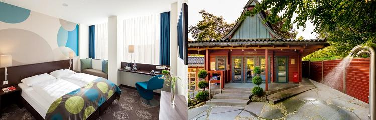 1   3 Nächte in Essen im 3* Hotel inkl. Frühstück und Thermeneintritt ab 59€ p.P.
