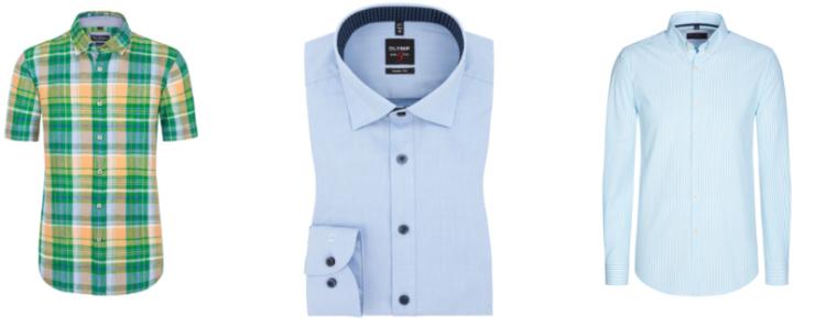 Hirmer Hemden Sale: Markenhemden um bis zu 50% reduziert + VSK frei ab 90€