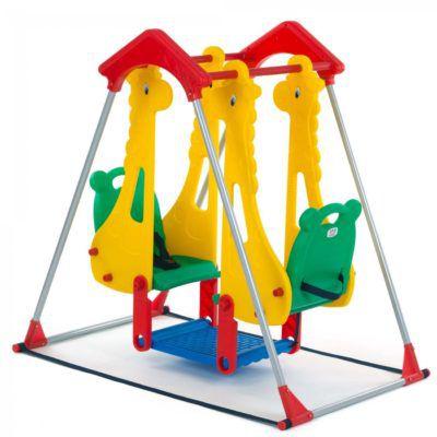 Baby Vivo Doppelschaukel Zoo für 55,99€ (statt 62€)