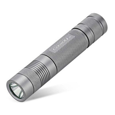 Convoy S2 LED Taschenlampe mit 1.000 Lumen für 11,14€