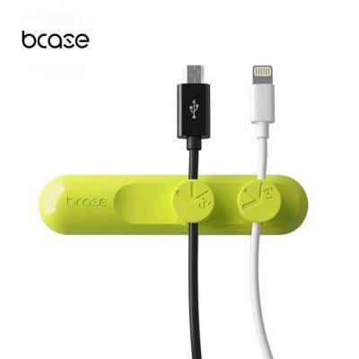 bcase TUP   Kabel Organizer in grün für 1,31€