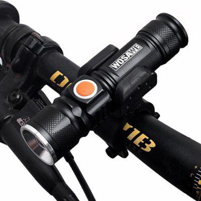 WOSAWE BCD   412   Wasserfestes LED Fahrradlicht für 5,24€