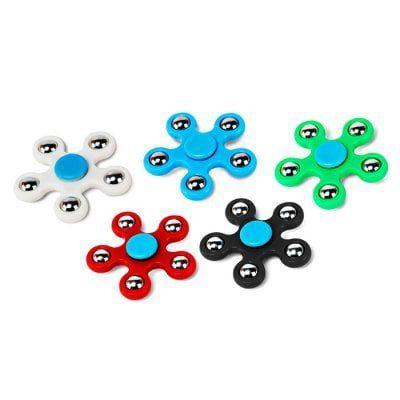 5 Fidget Spinner in versch. Farben für 5,10€