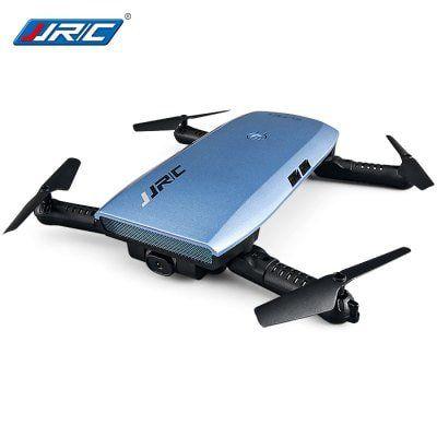 JJRC H47 ELFIE+ RTF Selfie Drohne (720p, WIFI, Headless Mode, One Key Return, G Sensor) für 34,02€