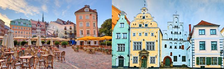 2   4 ÜN in Riga inkl. Frühstück und Flügen ab 89€ p.P.