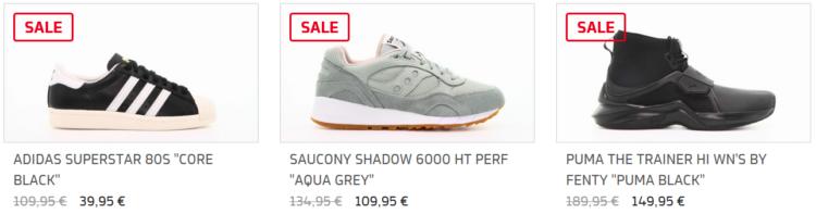 Bis zu 45% Rabatt im Afew Sneaker Sale + 25% Gutschein + VSK frei ab 50€
