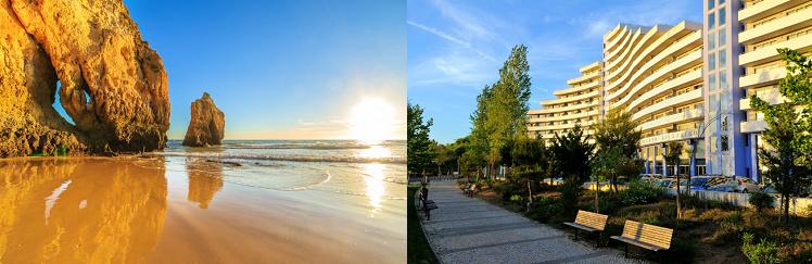 4, 7 o. 10 ÜN im 4* Hotel an der Algarve inkl. Flüge, Frühstück oder Halbpension ab 219€ p.P.