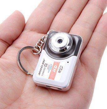 X6 Mini DV Mini DVR Videokamera mit bis zu 32 GB als Schlüsselanhänger für 5,80€