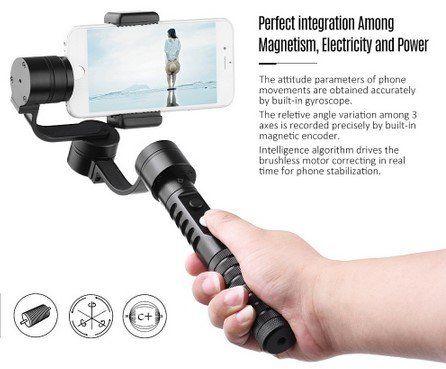 AFI V2 3 Achsen Smartphone Gimbal für ~97,30€ (statt 136€)