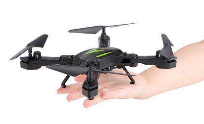 Florld F12W   faltbarer Quadrocopter mit Wifi, Controller, FPV & 2MP für ~29,70€